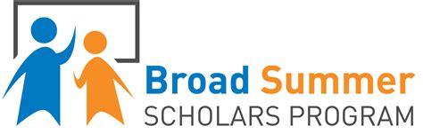 Broad S Mba Logo by Broad Summer Scholars Program Broad Institute