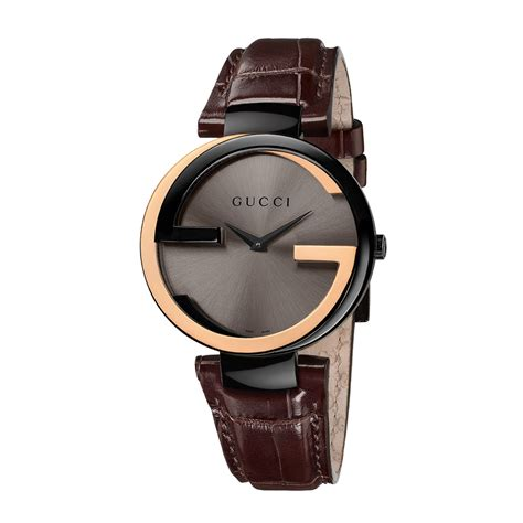 gucci leather watches