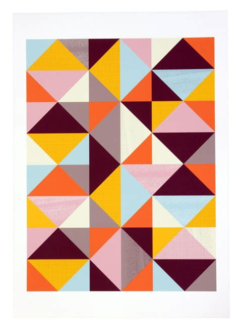 geometric pattern after effects matt blatt geometric abstract pattern unframed print a3