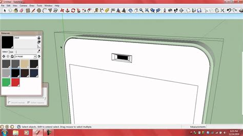 sketchup mobile how to design a cell phone on sketchup