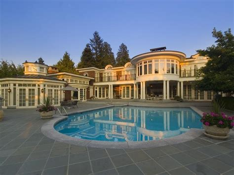 House Plans With Indoor Pools twin cedars a stunning canadian mansion homes of the rich