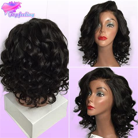 bob wigs human hair black women full lace brazilian bob wigs glueless virgin human hair