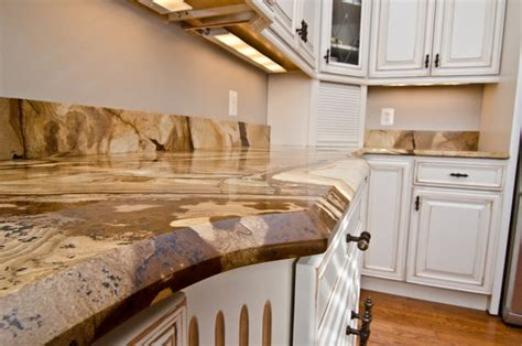 Wood Granite Countertops by Wood Granite Countertops Traditional Kitchen