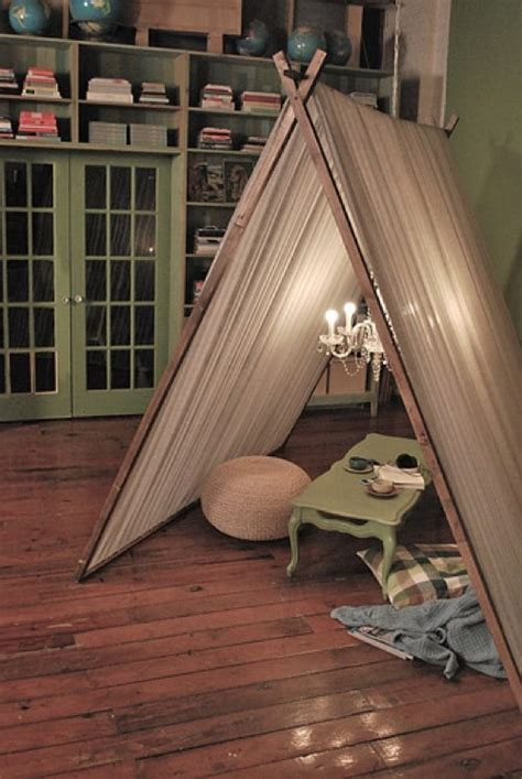 furniture fashionthats  tents  indoor camping ideas