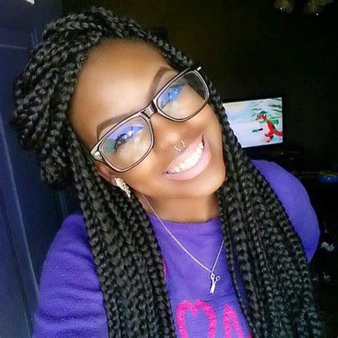 i need to set my braids for office box braids very cute box braid styles pinterest
