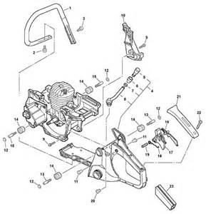 Echo Chainsaw Coil Wiring Diagram Echo Cs 450 Chainsaw C05812001001 C05812999999 Parts