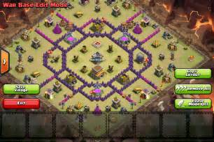 On this page you will find great war base layouts for your th8