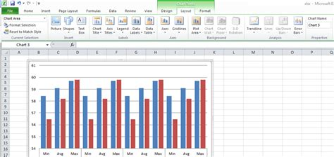 excel graph layout 5 excel 2010 chart tools gt layout gt lines greyed out