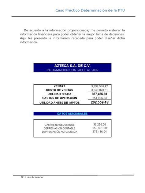 caso practico calculo del impuesto a la renta de 5ta categoria 2016 sunat caso practico de la determinacion de la ptu