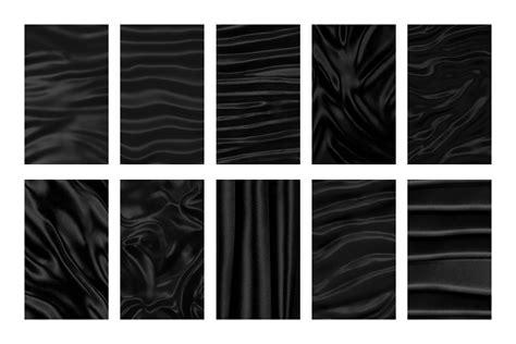 Pattern Black Silk Pack   seamless 3d silk satin fabric patterns designercandies