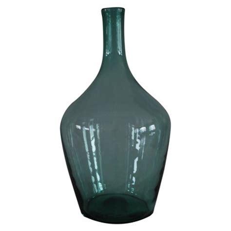 Target Glass Vase by Copy Cat Chic Pottery Barn Found Oversized Wine Bottle