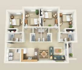 four bedroom apartments live at sunchase sunchase jmu harrisonburg apartments
