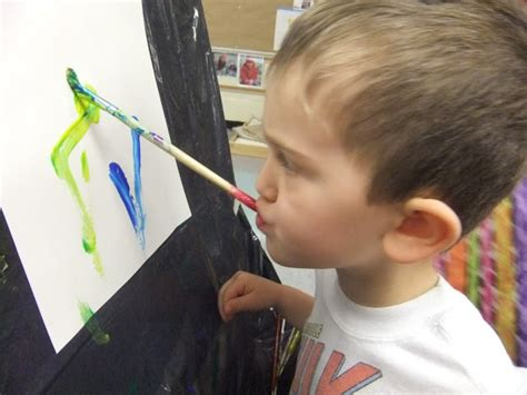 Painting G With A Twist by Playful Learning In The Early Years And Foot Painting