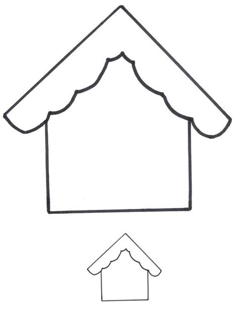 birdhouse templates 8 bird house applique patterns freeapplique