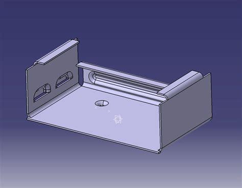 Sheet Metal Cover catia v5 sheetmetal keltia design inc