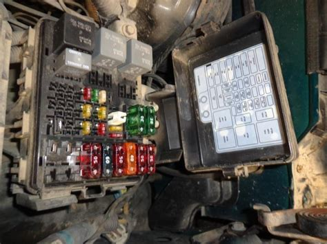 Purchase 97 Chevy Suburban 1500 Fuse Box 854355 Motorcycle