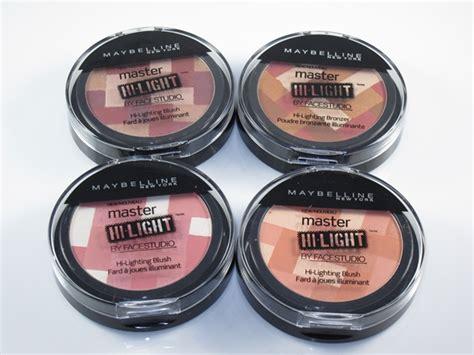 Maybelline Facestudio Master Hi Lighting Blush And Bronzer maybelline master hi light blush and bronzer sneak peek