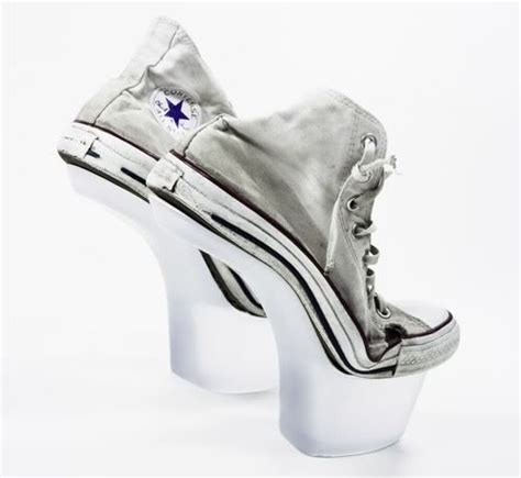 Sneaker Wedges Gaga awesome all converse cool heels gaga shoes