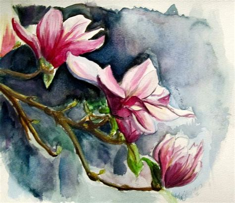 image gallery magnolia paintings