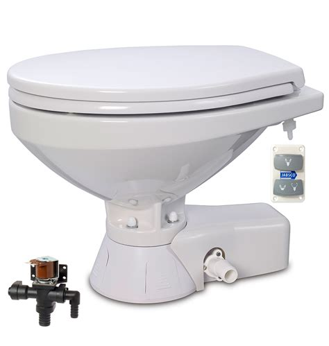 jabsco toilet filling with water jabsco 37045 4192 quiet flush electric toilet fresh