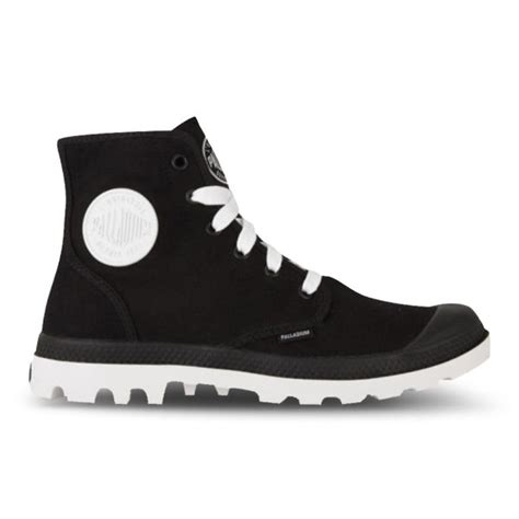 Cincin Black White Paladium | palladium women s blanc hi boots black white free uk