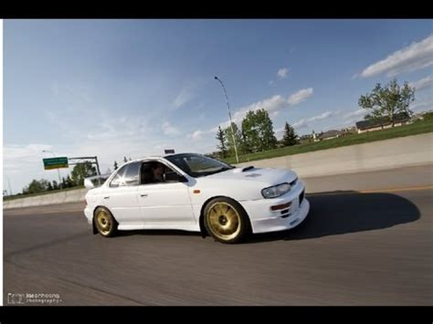 subaru gc8 white matte white 1995 subaru gc8 sti jan 6th 2012 youtube