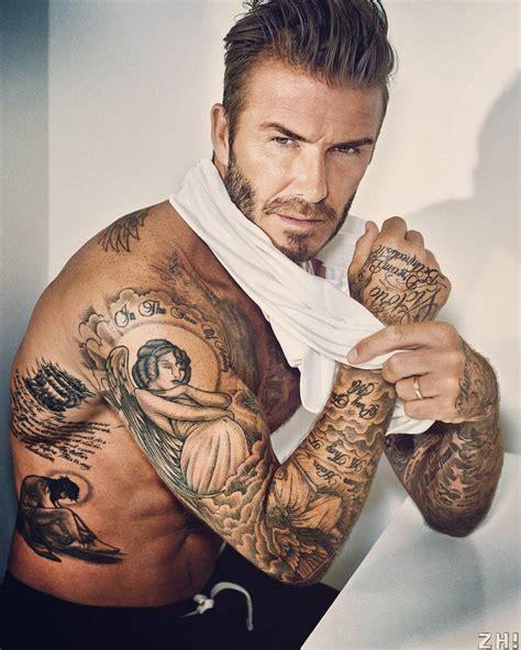 davidbeckham beckham tattoo lagalaxy on instagram