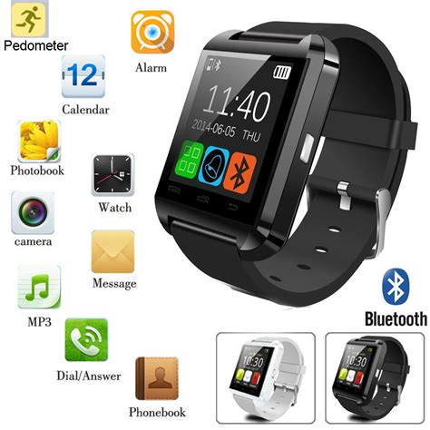 bluetooth android black u8 bluetooth smart for android ios iphone samsung lg sony ebay