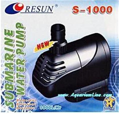 Pompa Aquarium 15 Watt resun s 1000 pompa portata 1000 l h prevalenza 1 1m