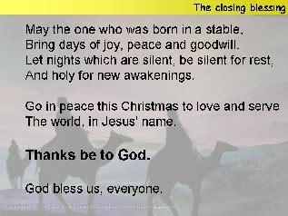closing prayer for christmas ideas for epiphany