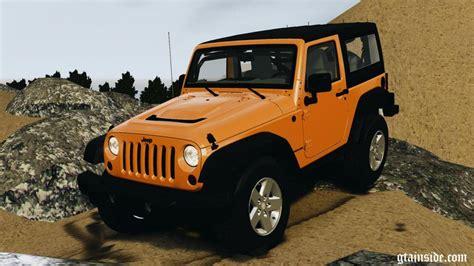 jeep rubicon inside gta 4 jeep wrangler rubicon 2012 mod gtainside com