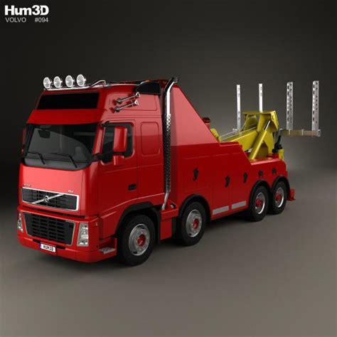 2008 volvo truck models volvo fh tow truck 2008 3d model hum3d