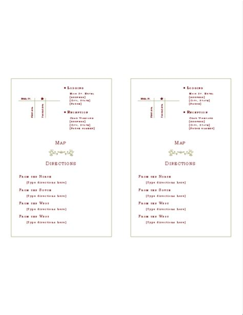 free printable driving directions for invitations download free printable invitations of directions insert