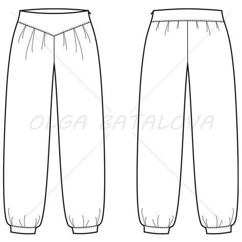 printable jeans template image gallery sweatpants template