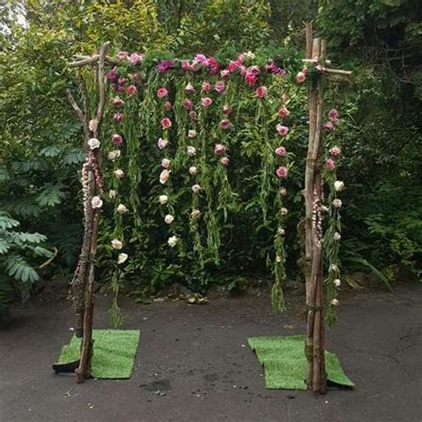 Wedding Arch With Hanging Flowers by Wedding Arch With Hanging Flowers Ceremonies I Do