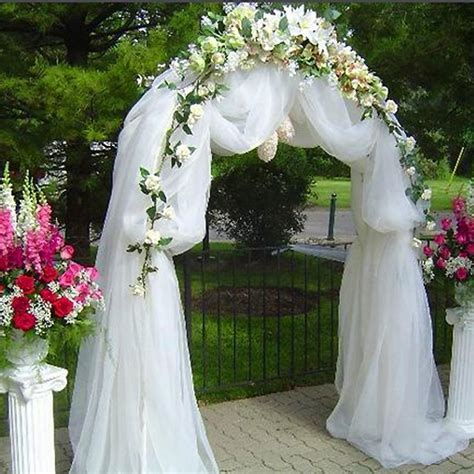 Elegant Arch Ceremony Decoration   Tradesy