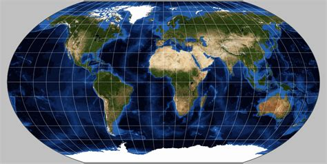 map projection definition robinson projection