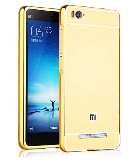 Xiaomi Mi4i Imei Hilang ktc new golden mirror back cover for xiaomi mi4i mobile phone plain back covers at low