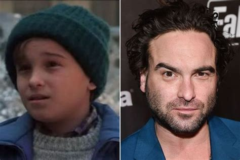 johnny galecki ellen national loon s christmas vacation see the cast then