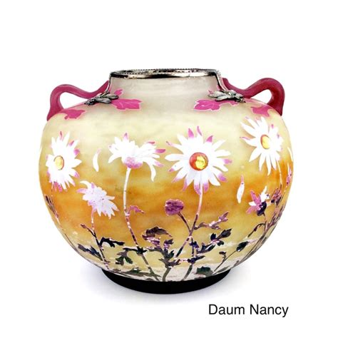 daum nancy vase um 1900 www jugendstil in berlin de