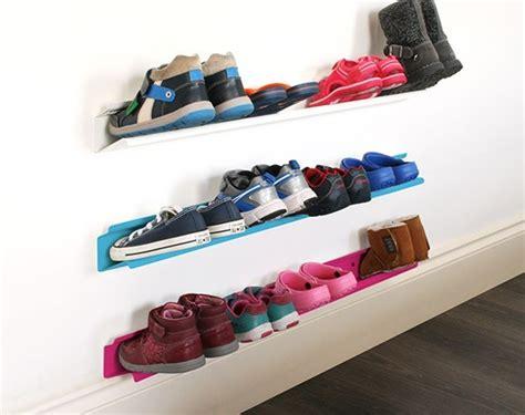 horizontal shoe storage kid s horizontal shoe rack