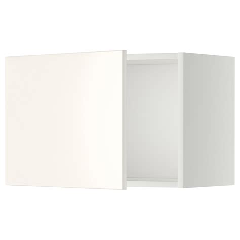 Wandschrank 30 Cm Tief by Metod Wall Cabinet White Veddinge White 60x40 Cm Ikea