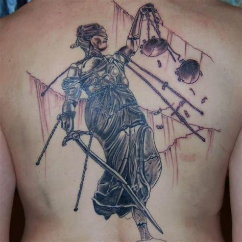 justice tattoo ideas and justice tattoo designs