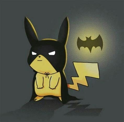 imagenes de batman kawaii art batman crossover cute pikachu image 4573533 by
