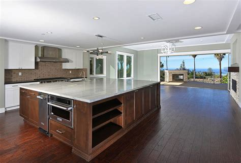 extra large kitchen island large kitchen island home design