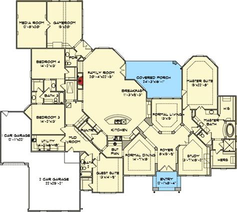 house plans with game room house floor plans picmia
