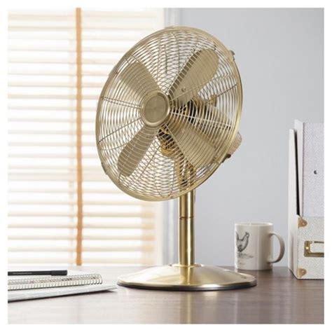 metal desk fan buy tesco df1215g 12 quot metal desk fan gold from our fans