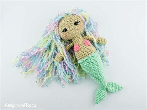amigurumi patterns download free aurora mermaid amigurumi pattern amigurumi today