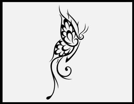 small tribal butterfly tattoos 25 gorgeous tribal butterfly ideas on