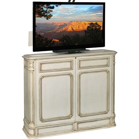 TV Lift Cabinet AT004471SWIVWW Crystal Point 360 Swivel 52